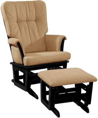 Dream On Me Windsor Glider and Matching Ottoman
