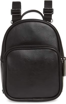 adidas Adicolor Mini Faux Leather Backpack