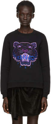 Kenzo Black Limited Edition Holiday Tiger Sweatshirt