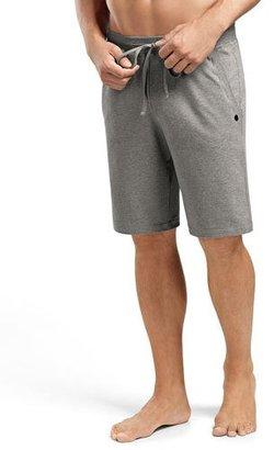 Hanro Luis Drawstring Sweat Shorts, Light Gray $130 thestylecure.com