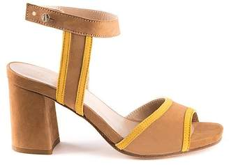 Formentini Perla Ines Suede Block Heel Sandal