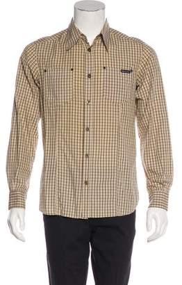 Dolce & Gabbana Woven Check Shirt
