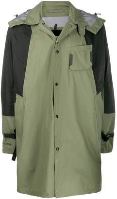 The North Face hooded raincoat