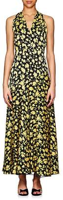Derek Lam Women's Floral Silk Maxi Dress