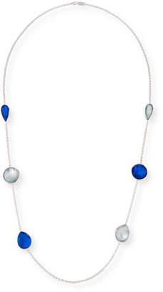 "Ippolita 925 Rock Candy Wonderland Large Station Necklace in Midnight, 42"""