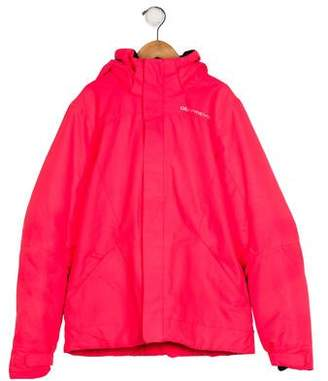 Obermeyer Girls' Hooded Zip-Up Jacket