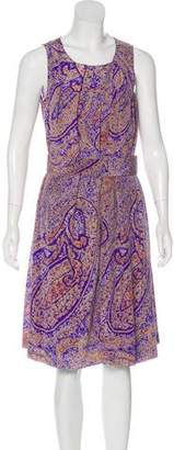 Etro Printed Sleeveless Dress