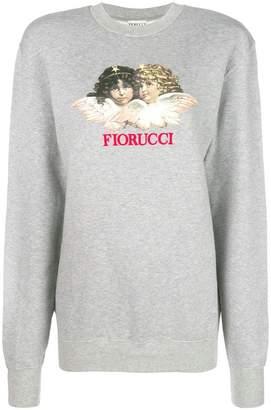 Fiorucci vintage angels print sweatshirt