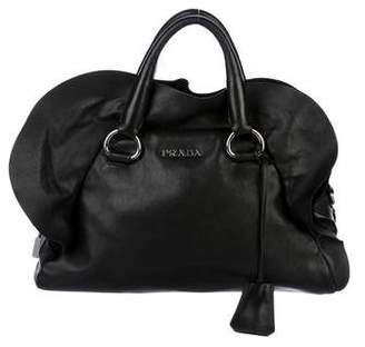Prada Nappa Ruffle Handle Bag