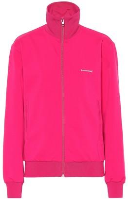 Balenciaga Jersey track jacket