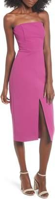 Leith Strapless Midi Dress