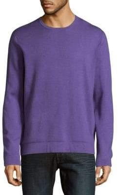 Saks Fifth Avenue Silk, Cotton & Cashmere Crewneck Sweater