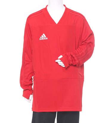 adidas (アディダス) - アディダス adidas メンズ サッカー/フットサル ジャージジャケット KIDS CONDIVO18 トレーニングトップ BS0518