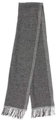 Eileen Fisher Wool Fringe Scarf w/ Tags