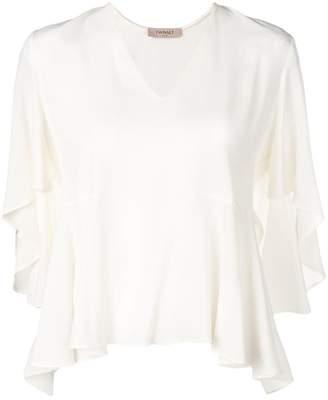 Twin-Set ruffled blouse