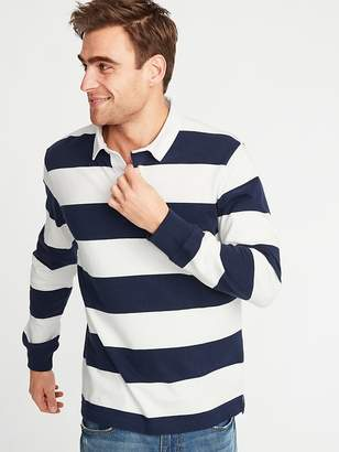 Old Navy Striped Thick-Knit Jersey Rugby for Men