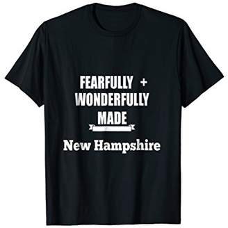 Fearfully and Wonderfully Made NH-He Said Men Youth T shirt