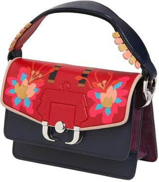 Paula Cademartori Twitwi Intarsia Leather Shoulder Bag