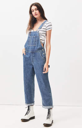 13fc642b6f PacSun Tough Blue Carpenter Overalls