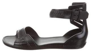 Givenchy Ankle Strap Rubber Sandals
