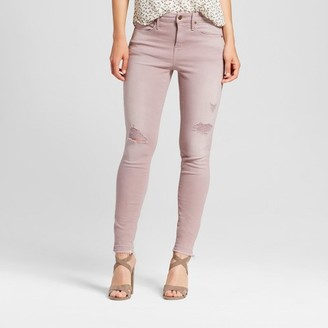 Mossimo Women's Jeans High Rise Skinny - Mossimo Pink $29.99 thestylecure.com