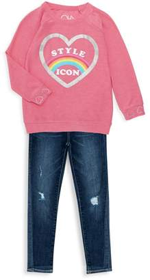 AG Adriano Goldschmied Kids Little Girl's The Twiggy Ankle Jeans