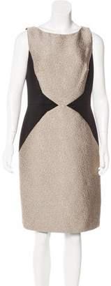 Carmen Marc Valvo Knee-Length Sheath Dress