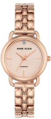 Women's Anne Klein Diamond Bracelet Watch, 30Mm $75 thestylecure.com
