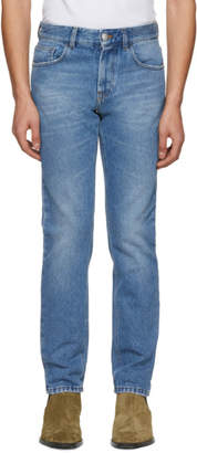 Versus Blue Embroidered More Please Jeans