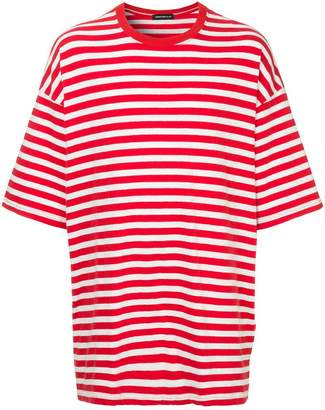 Undercover striped oversized T-shirt