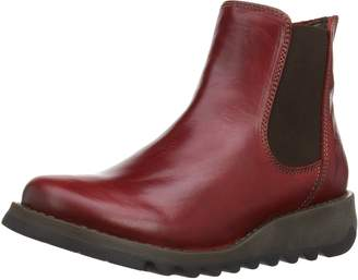 Fly London Womens Salv Leather Boots-UK 6