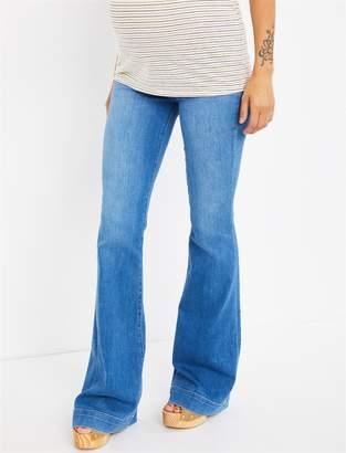 J Brand Pea Collection Side Panel Mama J Lovestory Flare Leg Maternity Jeans