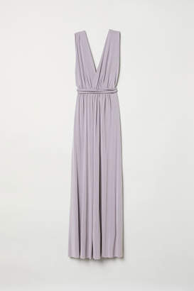 H&M Multiway Long Dress - Purple