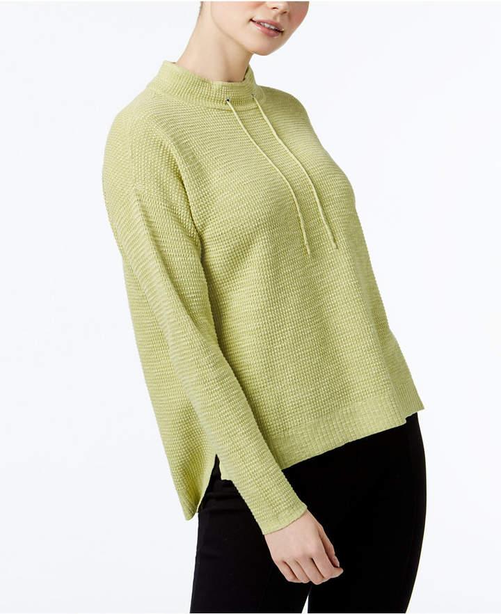 Eileen Fisher Funnel-Neck Sweater, Regular & Petite