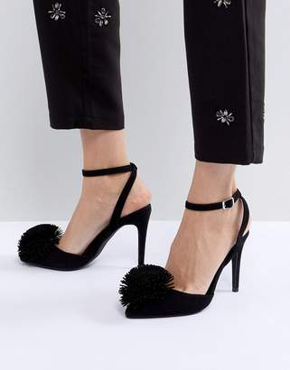 New Look Pom Point Court Shoe