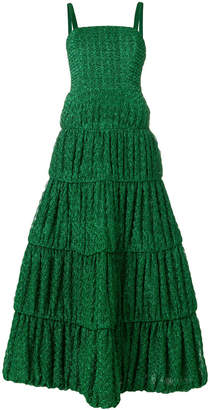 Missoni embroidered flared dress