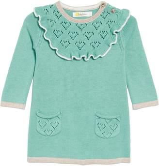 Boden Mini Frill Knit Sweater Dress