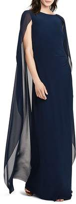 Lauren Ralph Lauren Cape Gown