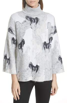 Kate Spade stallions sweater