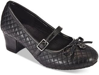 Michael Kors Girls' or Litte Girls' Ella Ola Dress Shoes $55 thestylecure.com