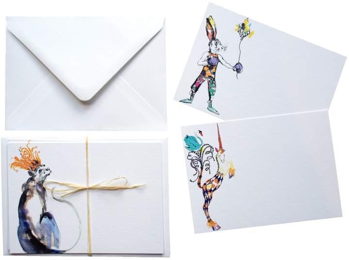 Isabel Fishlock - Circus Notecards