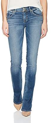 Hudson Women's Beth Midrise Baby Boot Flap Pocket Jean
