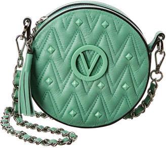 Mario Valentino Valentino By Yuki D Sauvage Studs Leather Crossbody