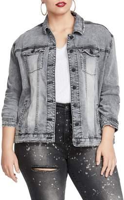 Rachel Roy Oversize Denim Jacket