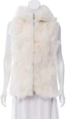 Moncler Gamme Rouge Lynette Fur Vest