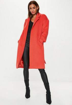 Missguided Relaxed Belted Coat