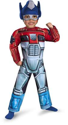Disguise Costumes Optimus Prime Rescue Bot Toddler Muscle Costume