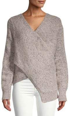 Derek Lam 10 Crosby Wool-Blend Crossover Sweater