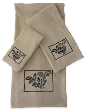 Sherry Kline Findlay 3-Piece Decorative Bath Towel Set
