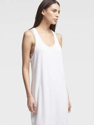 DKNY Double-Layer Tank Midi Dress